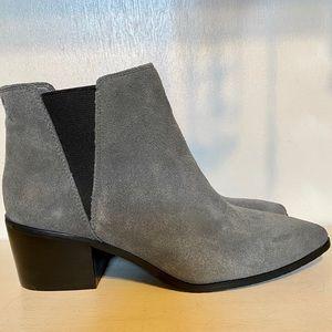 TAHARI Gray Boots